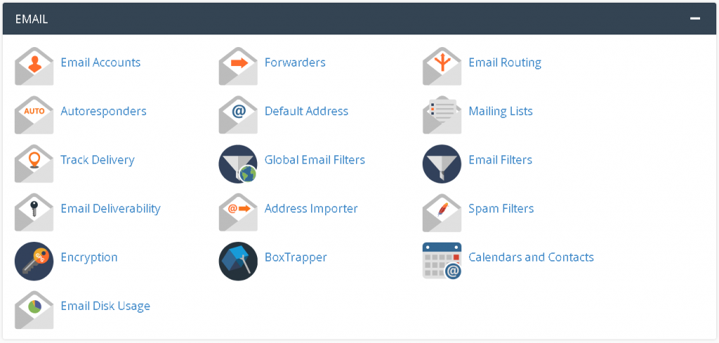 Robust cPanel Email Features