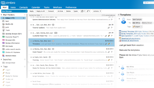 Zimbra Email Messaging and Collaboration