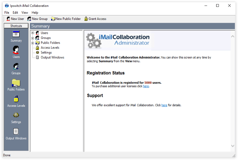 iMail Email Server