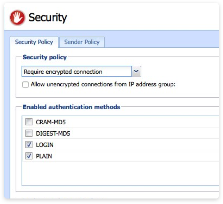 Security built into your business email